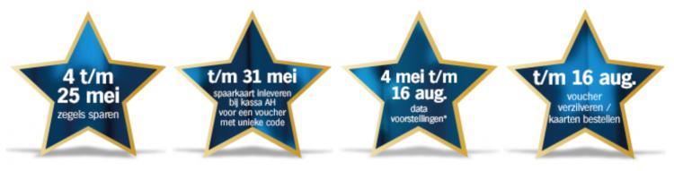 Albert Heijn Musical sterrenweken
